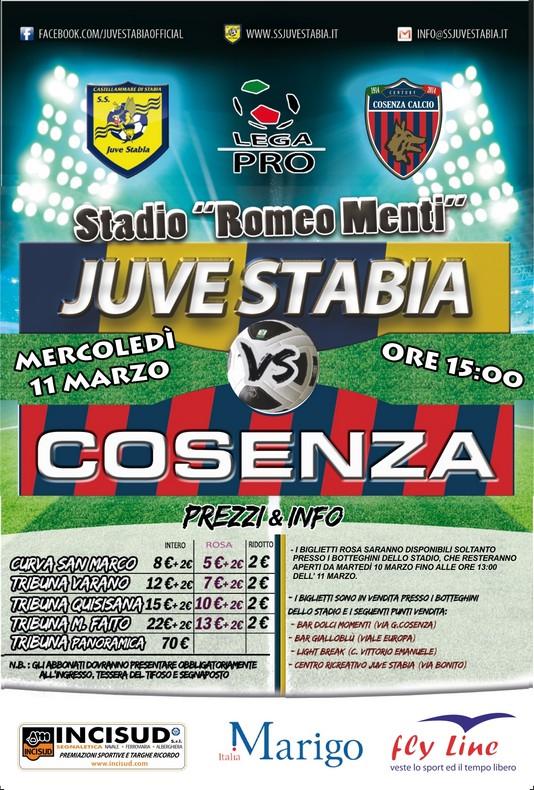 Juve Stabia-Cosenza