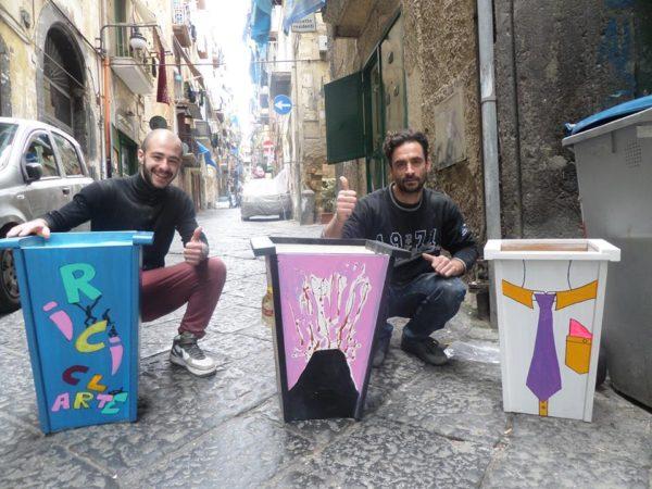 miniera ai quartieri spagnoli.riciclarte