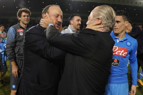 """Scozzafava: """"De Laurentiis ha un progetto per persuadere Benitez a restare..."""""""