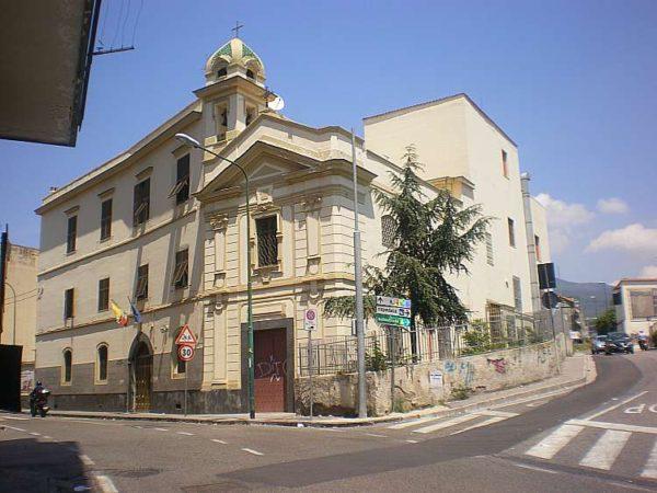 03503 Dalla Circonvallazione Istituto e Chiesa delle Suore Battistine