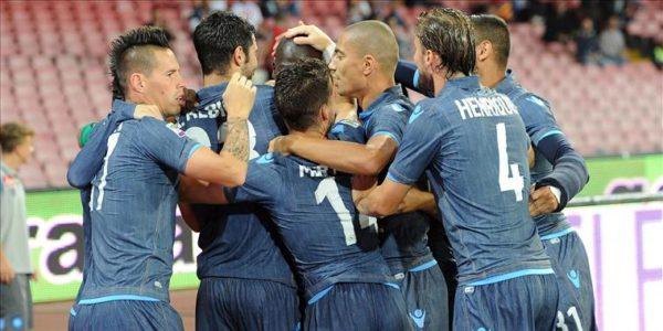 Europa League, al San Paolo è festa
