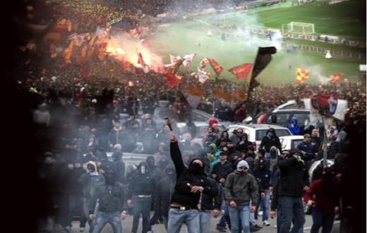 Allerta scontri per Roma-Napoli