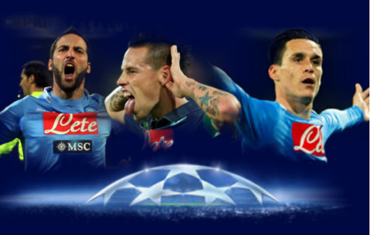 Azzurri in Champions
