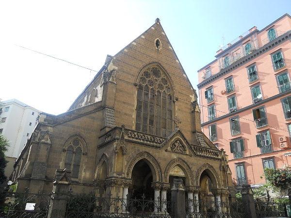 Morto a Pasqua - Chiesa Anglicana di Napoli