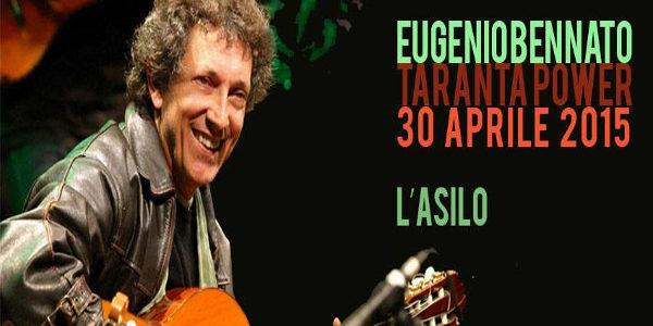 Eugenio Bennato - concerto gratuito Asilo Filangieri