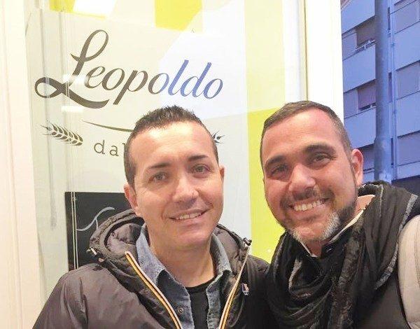 Gino Sorbillo e Marco Infante