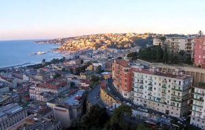 Napoli vista da un drone