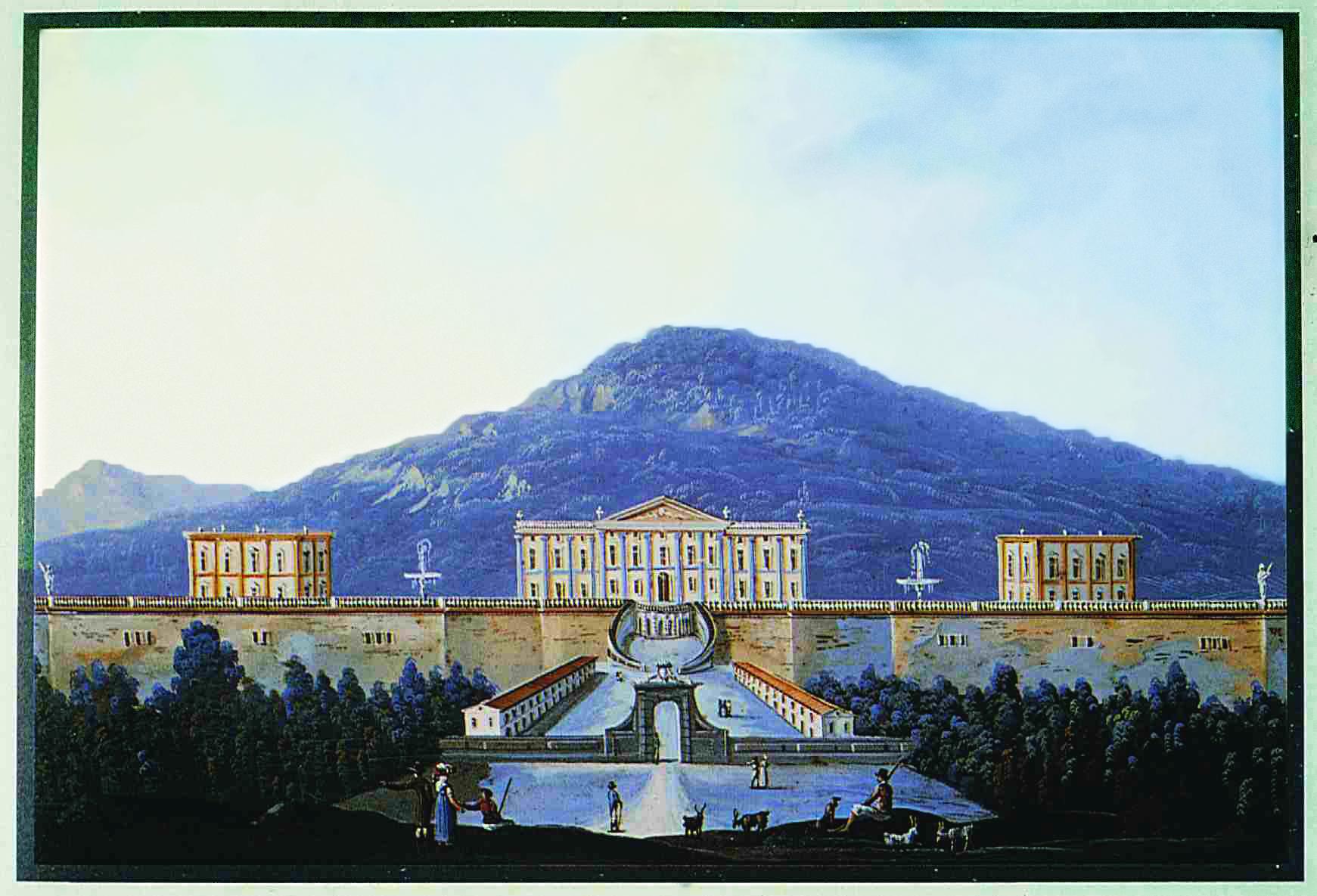 Il palazzo reale di portici la terza meraviglia di carlo for Foto di portici in pietra