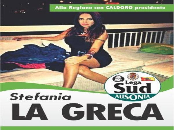 Stefania La Greca - Lega Sud Ausonia con Caldoro Presidente
