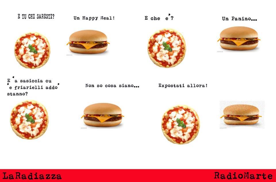 Happy Pizza con sorpresa napoletana