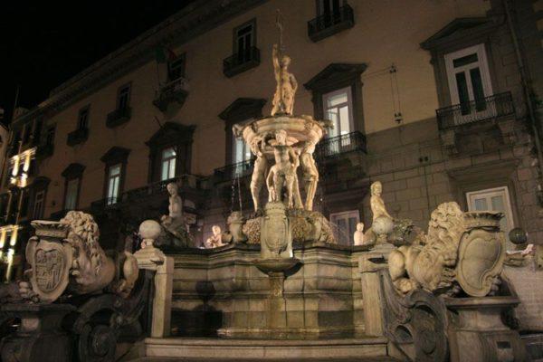 fontana vicino piazza del plebiscito