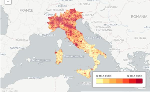 Mappa del reddito (2014)