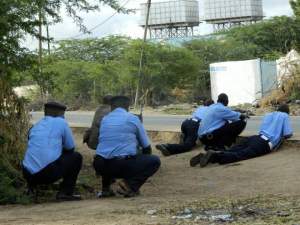 assalto dei poliziotti a Garissa