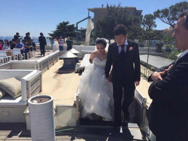 coppia dell'oriente si sposa a napoli