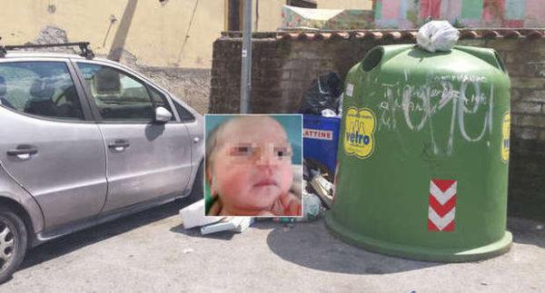 Calvizzano, neonata trovata tra i rifiuti
