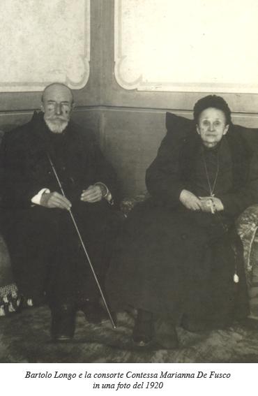Bartolo Longo e la contessa Marianna De Fusco