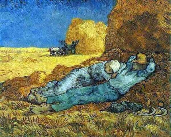 Riposo pomeridiano di Vincent van Gogh