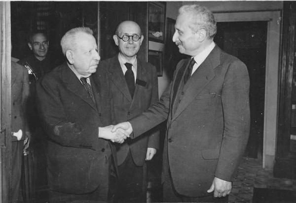 Benedetto Croce incontra Enrico De Nicola