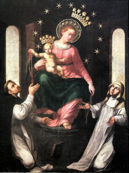 Madonna di Pompei - Beata Vergine del Rosario, quadro