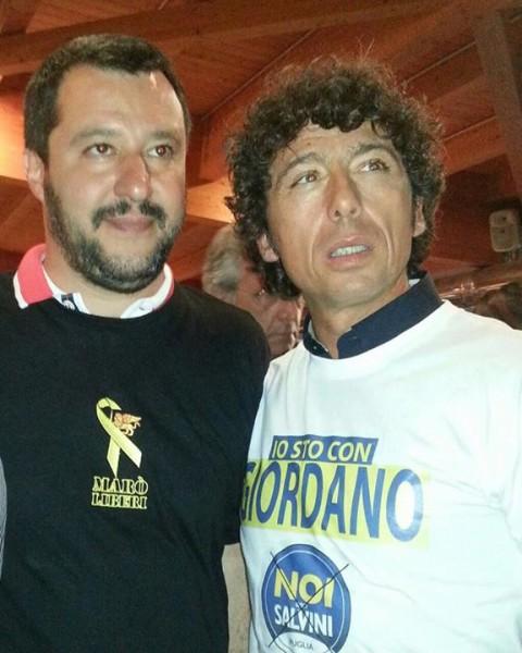 Mauro Giordano e Matteo Salvini - Noi con Salvini