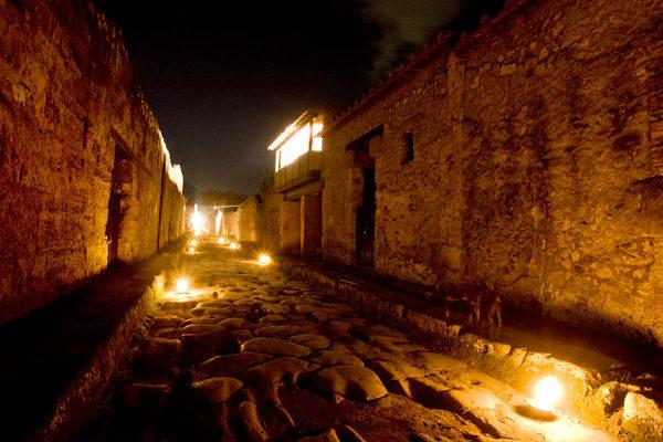 Notte dei musei - Visite di notte Pompei e Ercolano