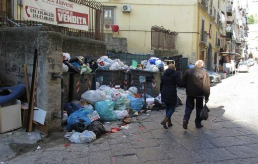 Spazzino Napoli