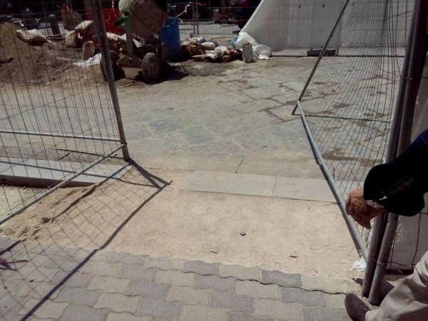 attraversamento pedonale di Piazza Luigi Palomba