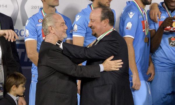 Il Napoli perde un allenatore ma trova un alleato, Benitez lascia il Napoli senza rancore