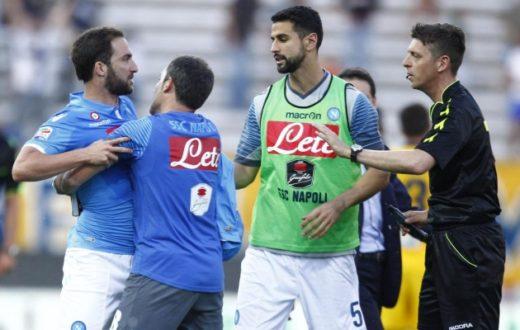 """La SSC Napoli risponde: """"proteste rivolte alle perdite di tempo..."""""""