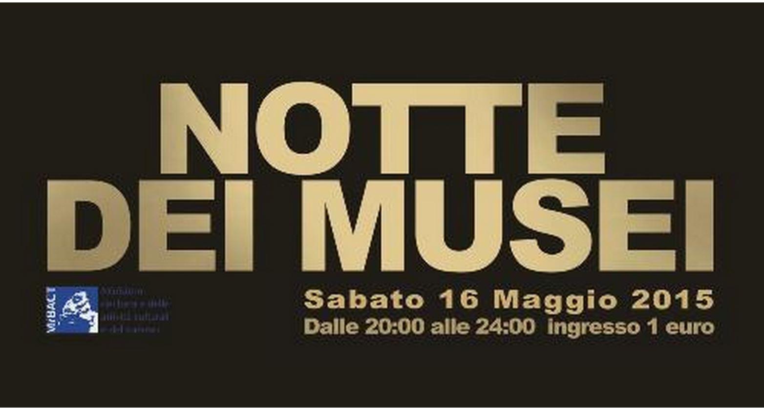 Sabato 16 maggio torna la notte dei musei biglietti a 1 euro for Appartamenti barcellona 20 euro a notte