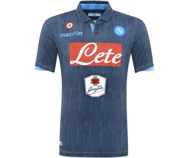 second maglia del napoli