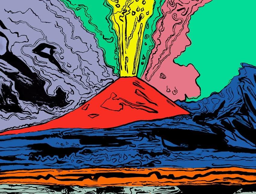 Andy Warhol vesuvio vesuvius