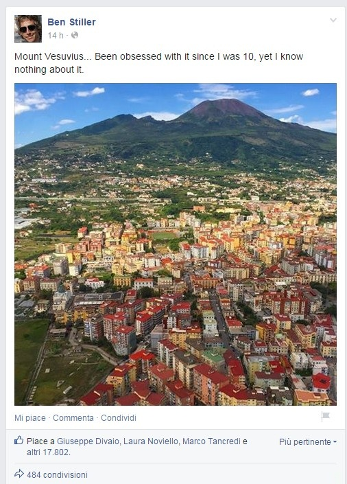 Ben Stiller Vesuvio