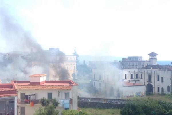 Incendio Ercolano - Villa Ruggiero