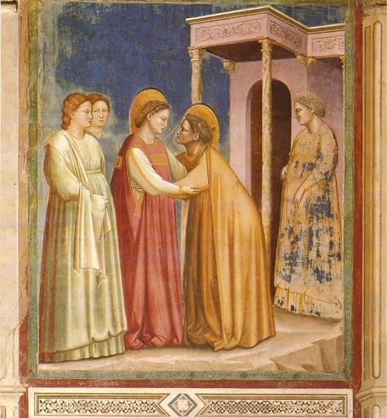 Visitazione, Giotto