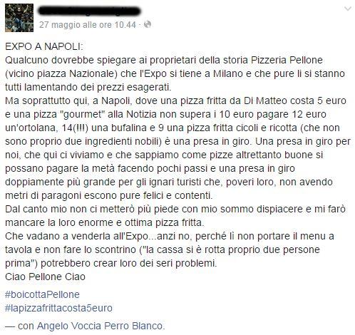 boicotta pizzeria pellone