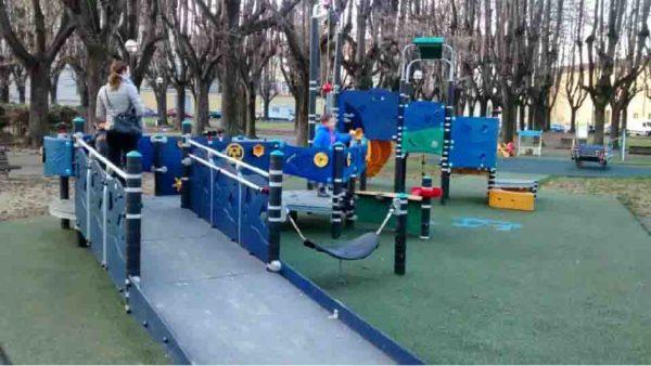 parco giochi inclusivo