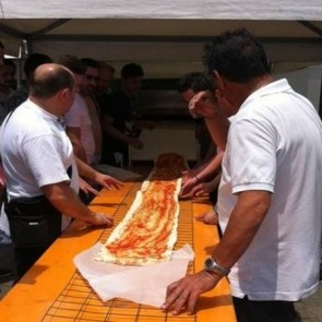 pizza più lunga del mondo record calabria