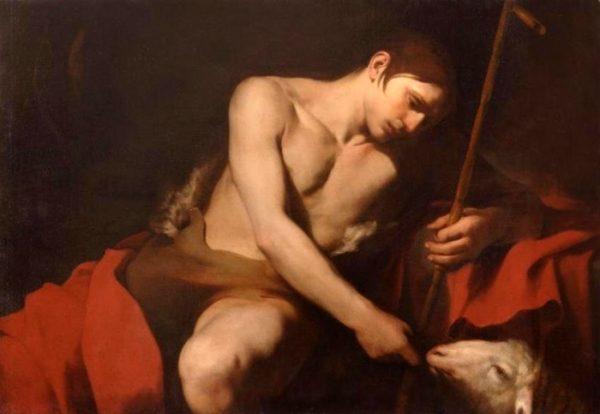 San Giovanni nutre l'agnello, di Caravaggio