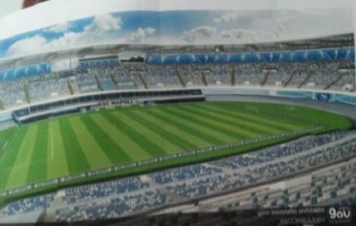 Foto progetto stadio San Paolo