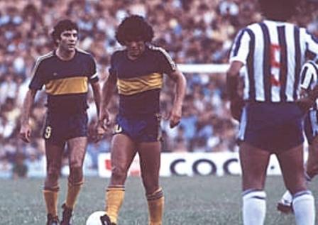 Hugo Perotti e Maradona