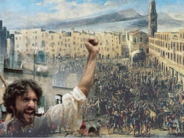 La rivoluzione di Masaniello - Piazza Mercato, Chiesa del Carmine