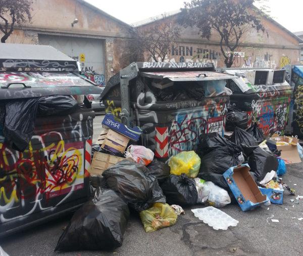 Rifiuti Roma new york times