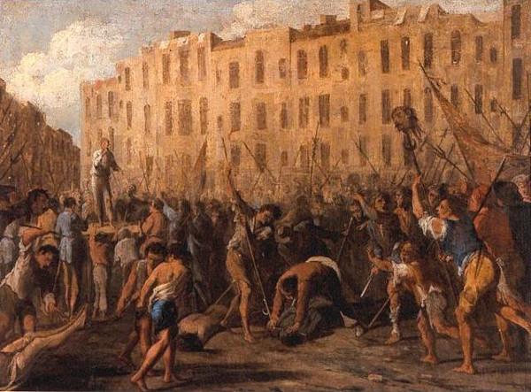 Momenti della rivolta - Micco Spadaro