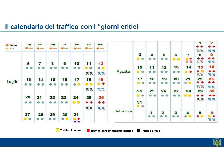 traffico calendario