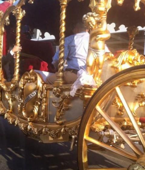 carrozza d'oro