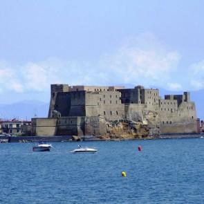 castel dell'ovo, tour in barca