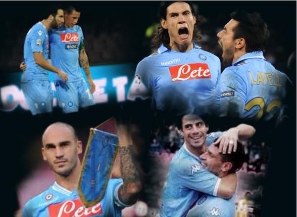 giocatori SSC Napoli