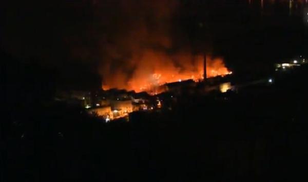 incendio città della scienza
