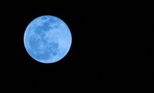 la luna blu